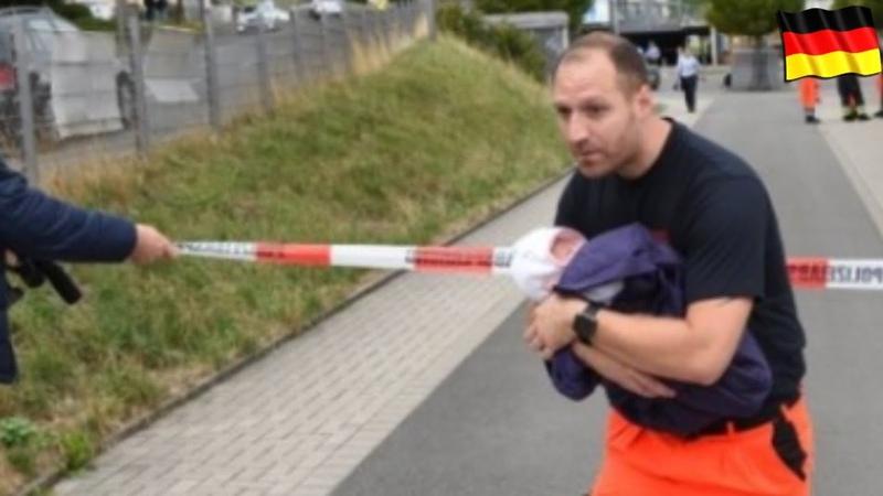 На вокзале в Германии убили мужчину и женщину/Двухмесячный ребенок жив/Новости Европы/Europe news