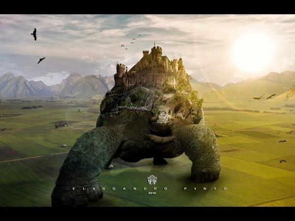 Speed Art photoshop-Create a Surreal Turtle