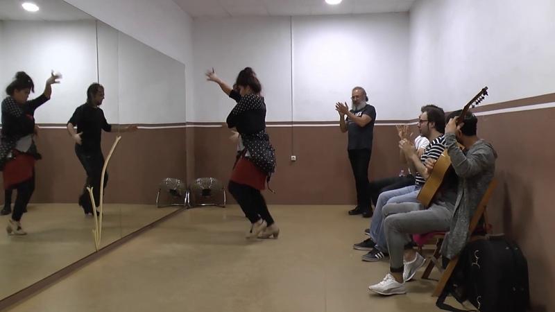Ensayo Flamenco Festival Esch Jairo Barrull y Saray de los Reyes