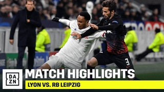 Олимпик Лион - Лейпциг РБ 2:2 Лига Чемпионов