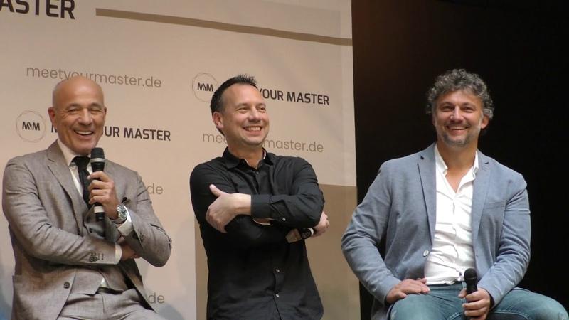 Edutainment Plattform Meet Your Master Vorstellung erster Master durch Heiner Lauterbach