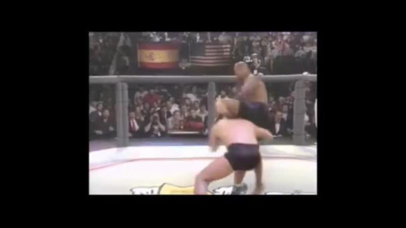 MMA Dan Severn vs Marcus Bossett Лучший боец в истории Зверь Дэн Северн против Маркуса Боссетта 11DeadFace