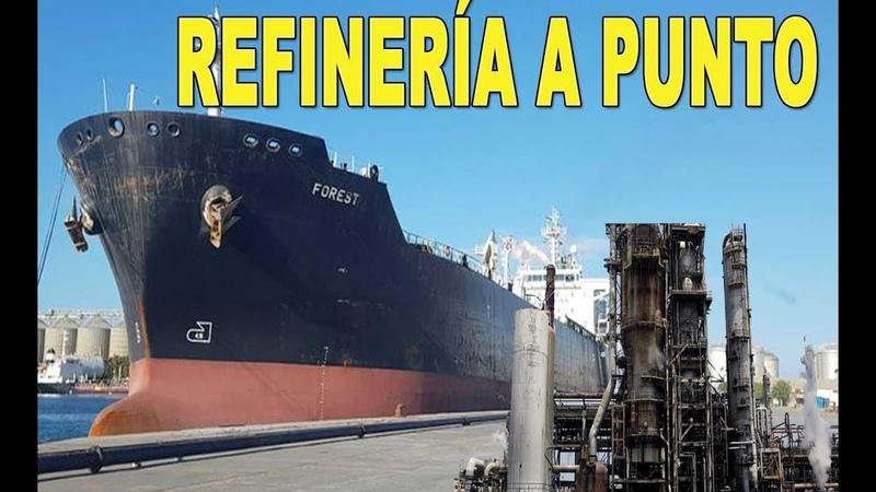 Venezuela reactiva refinería con llegada de segundo tanquero