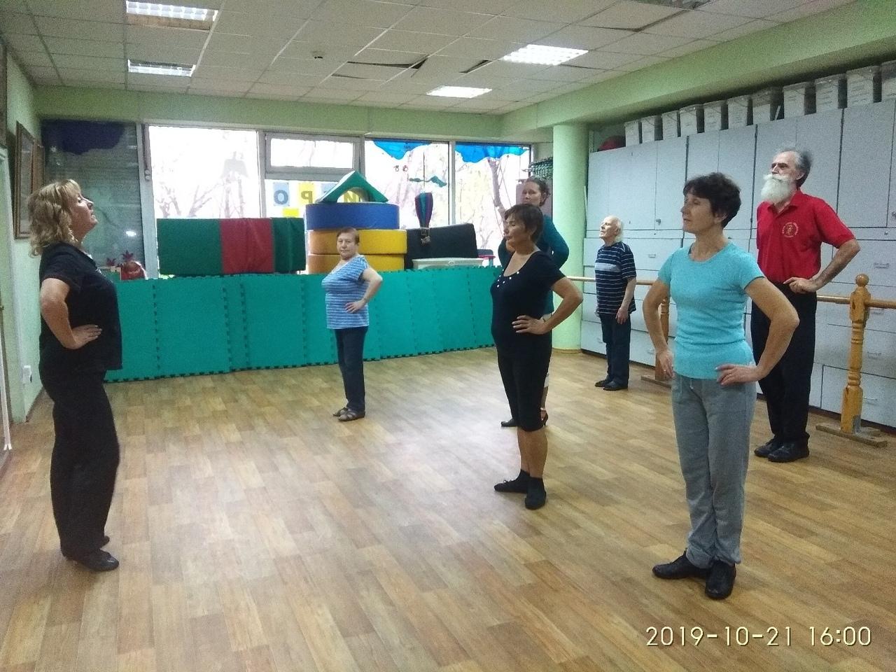 """танцы для пенсионеров бесплатно в клубе """"Сфера"""""""