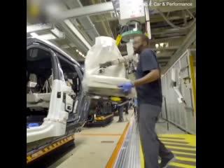 Производственная линия BMW X7  - стройка. ghjbpdjlcndtyyfz kbybz bmw x7  - cnhjqrf.