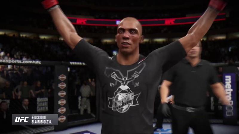 Охуительно-Четкий Бокс от EDSON BARBOZA!