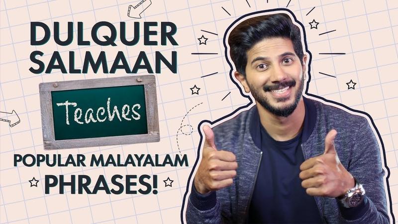 Dulquer Salmaan Teaches Popular Malayalam Phrases | Bollywood | Pinkvilla