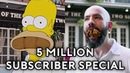 Binging with Babish 5 Million Subscriber Special Recreating Homer Simpson's NOLA Food Tour