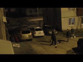 В Стерлитамаке местные жители устроили массовую потасовку //
