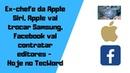 Ex-chefe da Apple Siri, Apple vai trocar Samsung, Facebook vai contratar editores - Hoje no TecWord