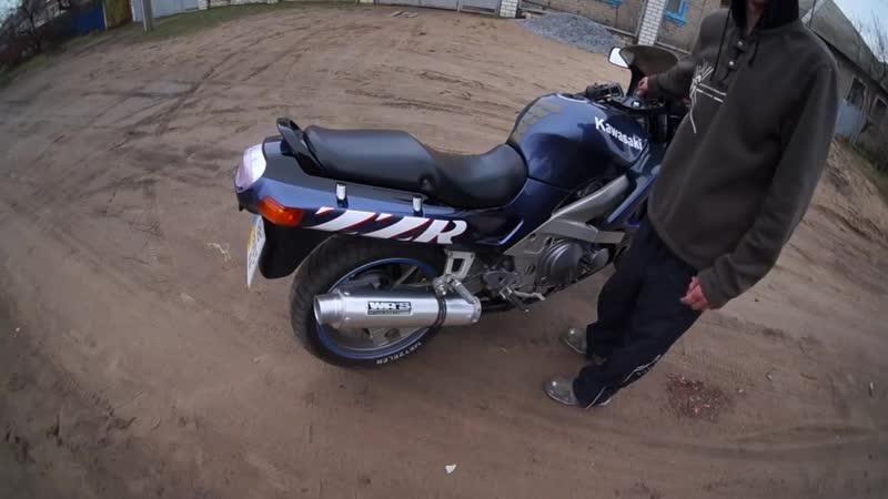 Недорогой прямоток WR'S ZZR 400 '