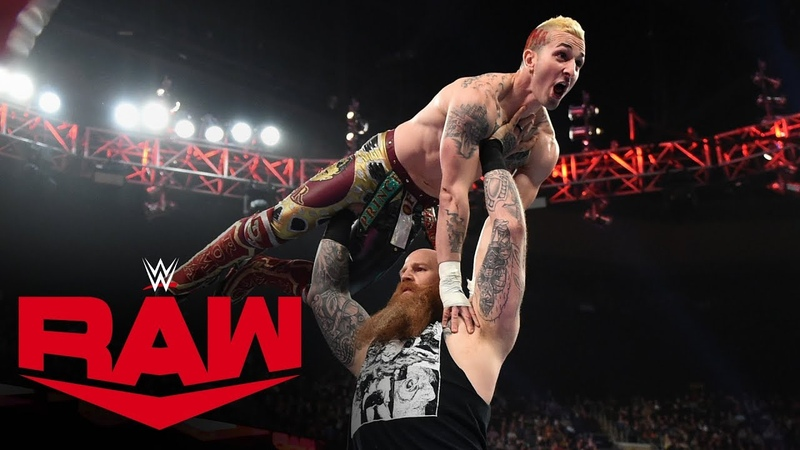 Erick Rowan vs. Alex Malcom: Raw, Nov. 18, 2019