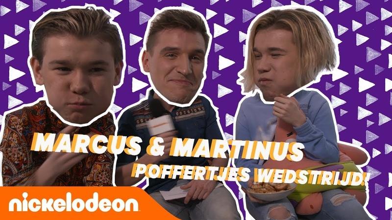 MARCUS MARTINUS kunnen geen POFFERTJES meer zien 🤢 🇳🇱 🇧🇪 Challenge Nickelodeon Nederlands