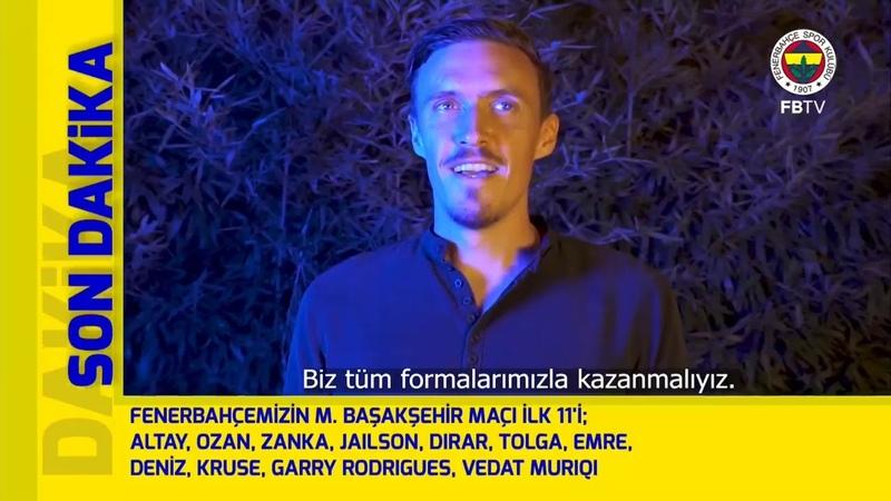 Maç Başlıyor (M. Başakşehir - Fenerbahçe)