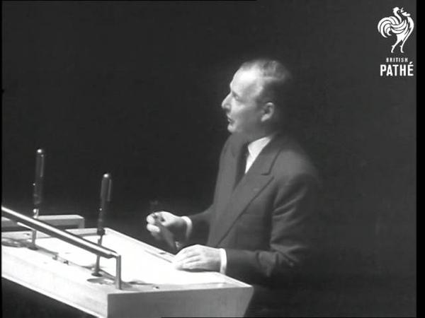 Selwyn Lloyd's Speech At United Nations 1958