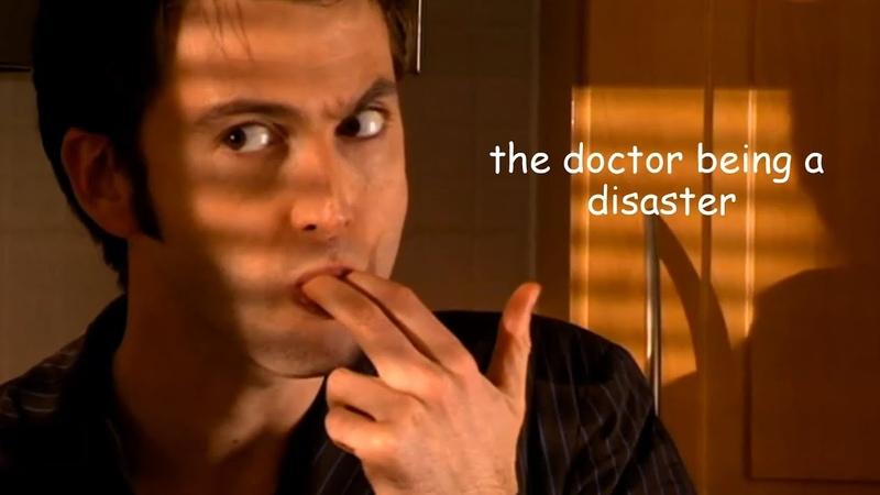 The doctor being a disaster for 8 minutes straight