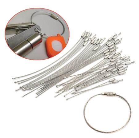 Тросики для связки ключей подвешивания инструмента и не только