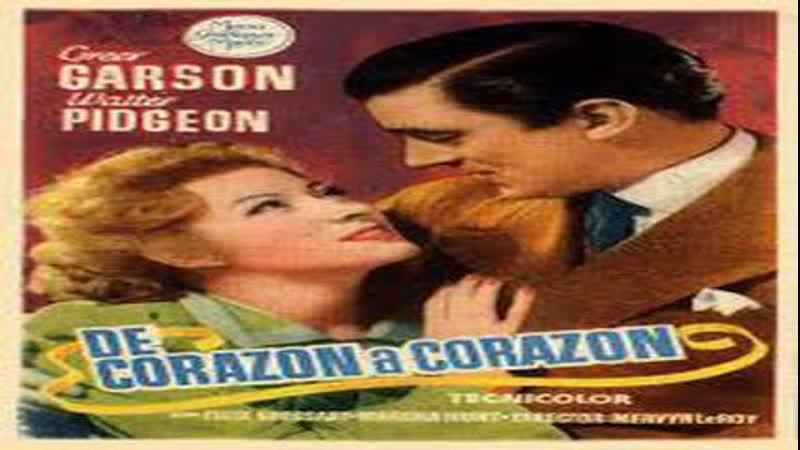 Cine clásico.- De corazón a corazón.- (1941).Español