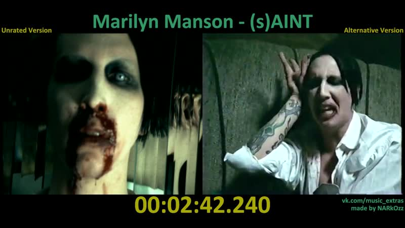 Marilyn Manson - 2004 (s)AINT (Unrated x Alternative Version)