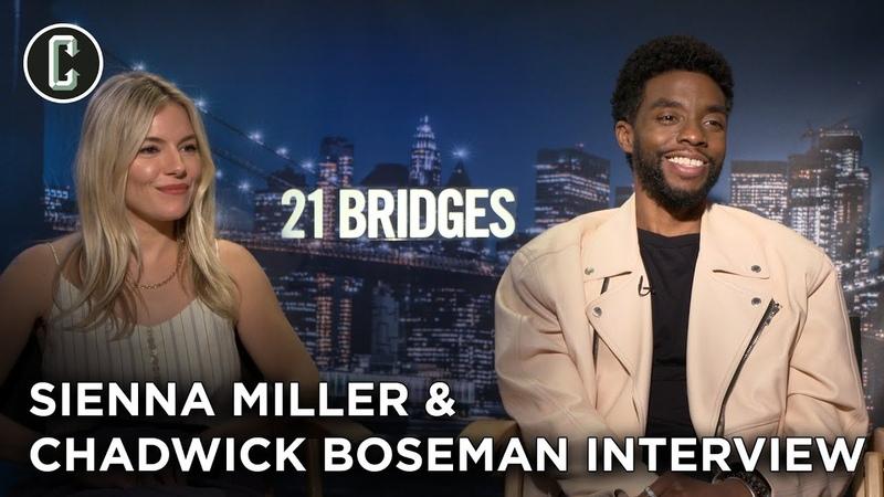21 Bridges: Chadwick Boseman and Sienna Miller Interview