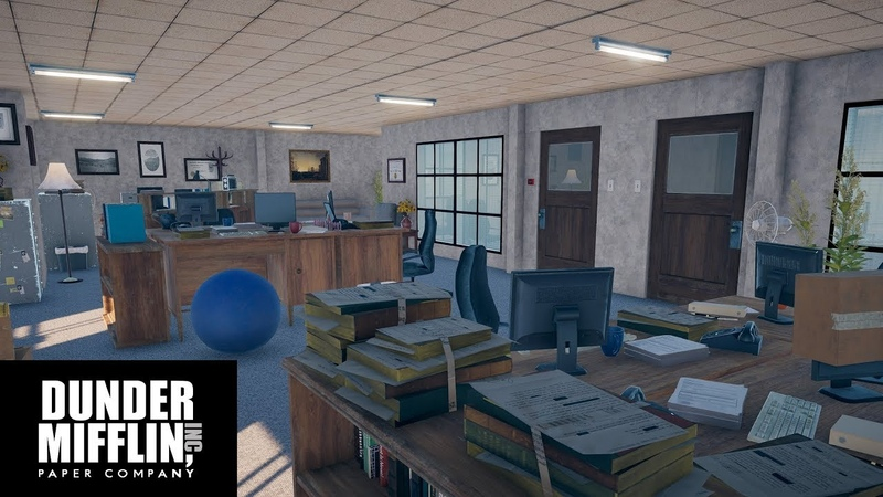 I made the entire Dunder Mifflin office in Far Cry 5!