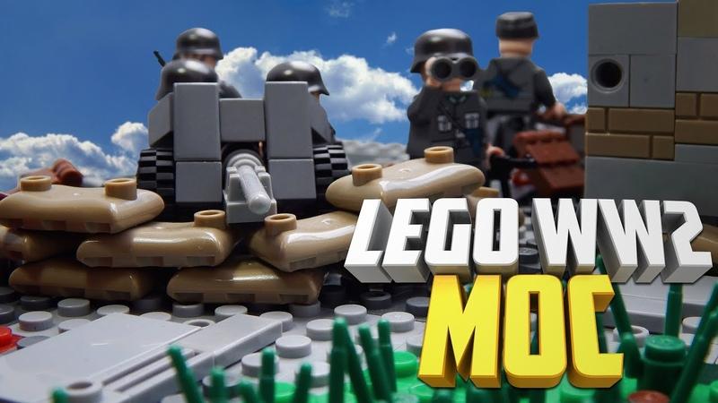 Lego WW2 MOC Таллинская оборона | Лего самоделка по Второй Мировой войне