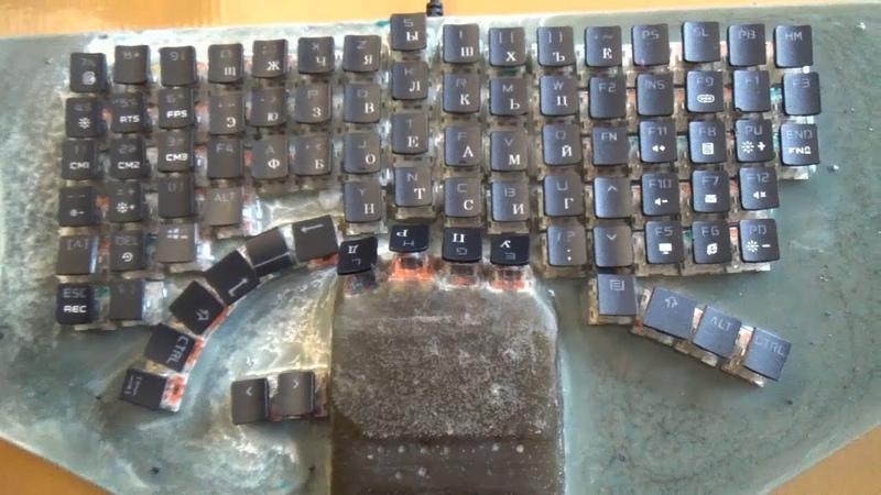 Клавиатура Sneik Battel Control - Раскладка алфавита и Сочетание клавиш / Часть 2