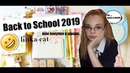 Back to School 2019/ Мои покупки к школе linka cat