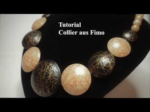 Fimo Tutorial deutsch Polymer Clay silkscreen полимерная глина мастер класс