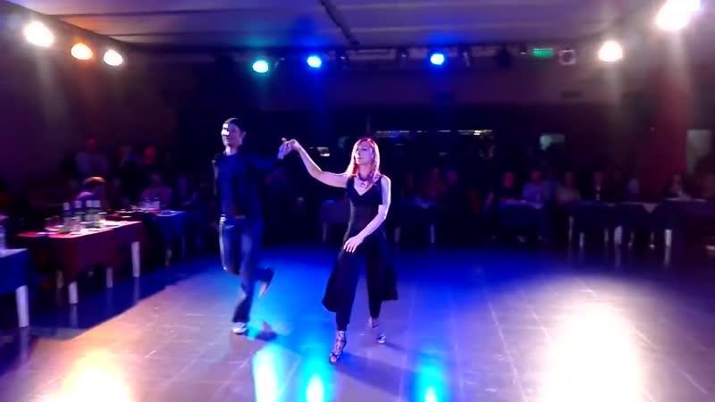 Танго Нуэво Andrea y Blas Bailarines de Eslovenia en la Viruta Tango de Solanas Sabado 2