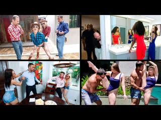 Megan Hughes & Katie Kush & etc - Daughter Swap Compilation 4 [, All Sex, Bedroom, Blonde, Blow Job, Cowgirl]