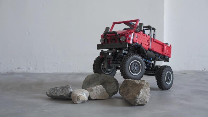 Lego Mini Unimog Upgrade Version