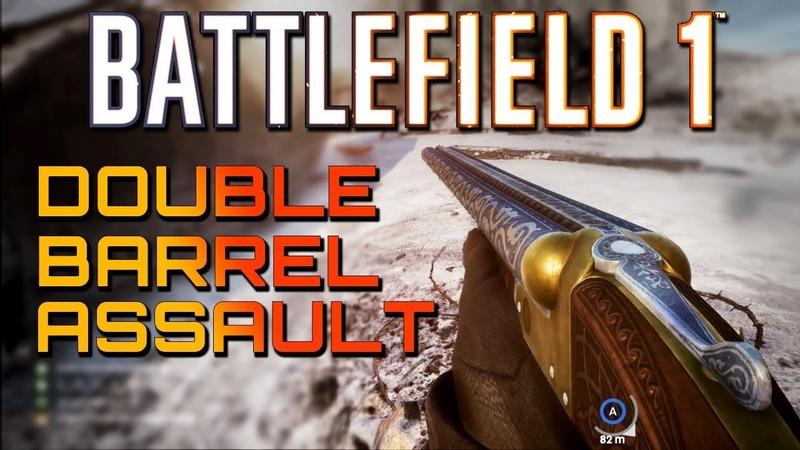 Battlefield 1: Double Barrel Assault TSAR DLC 4K PS4 PRO Multiplayer Gameplay