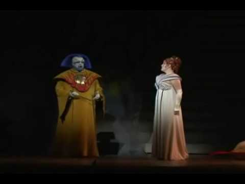 The Magic Flute, Albina Shagimuratova as The queen of the night, Matthew Polenzani as Tamino