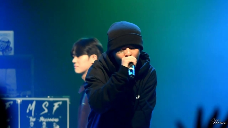2019.10.26 M.S.F 단독콘서트 안병웅(병웅),전우성(칠린호미,Chillin Homie) - 미공개곡