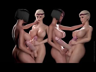 Bloodlust Cerene - Royal Descent +  futa, big dick, cum, big tits, porn, 3d, r34, anal