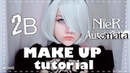 ✿ 2B | NieR Automata | Cosplay Makeup Tutorial ✿