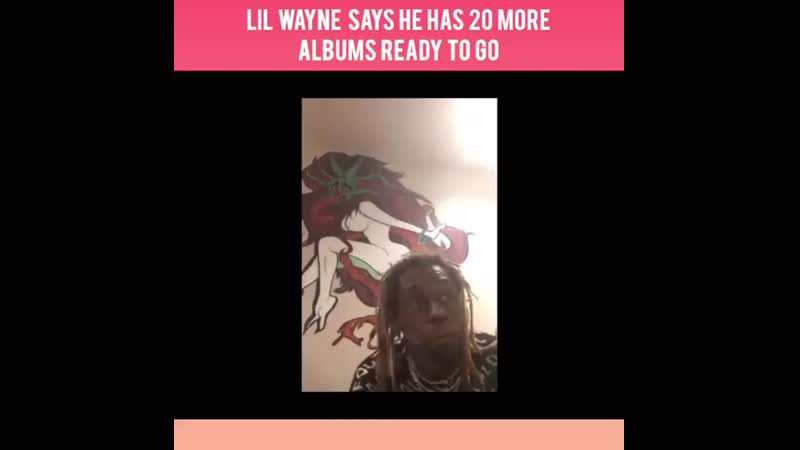 """Although - LilWayne just dropped - Funeral, he tells Zane Lowe he has """"20 more alb ( 750 X 750 ).mp4"""