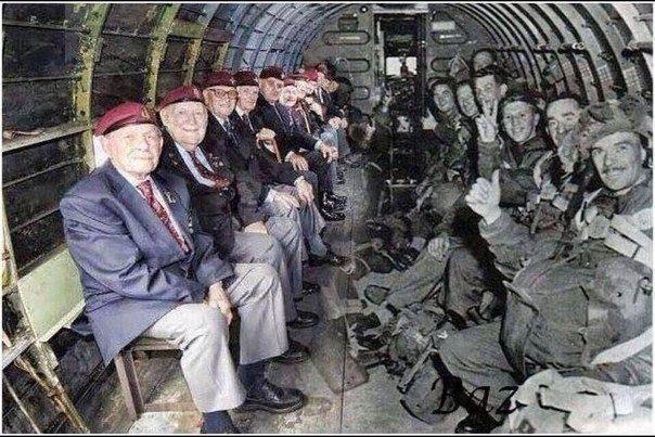 19442011 год. Все члены десанта данного планера выжили, прошли войну и в 2011 встретились в том же составе, в каком были в далеком 1944