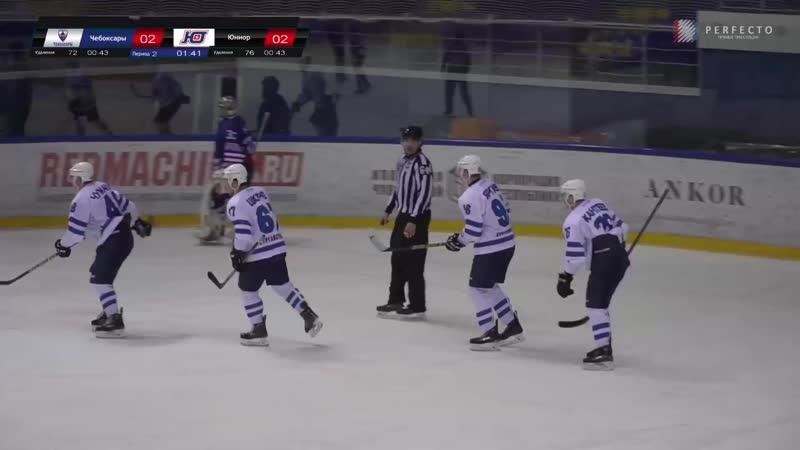 Гол Максима Чумакова в матче с «Чебоксарами» (20.11.19)
