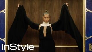 Melanie Liburd   2020 Golden Globes Elevator   InStyle