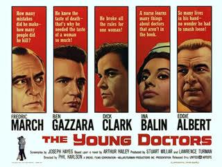 The Young Doctors (1961) Fredric March, Ben Gazzara, Dick Clark