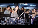 South Korean Beauty Playing Rock Drums! A Yeon Rocks!