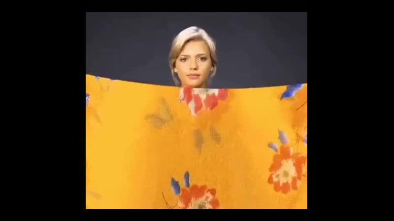 Необычные способы завязать платок или шарф