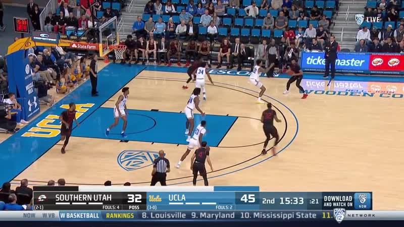 NCAAB 20191118 Southern Utah vs UCLA