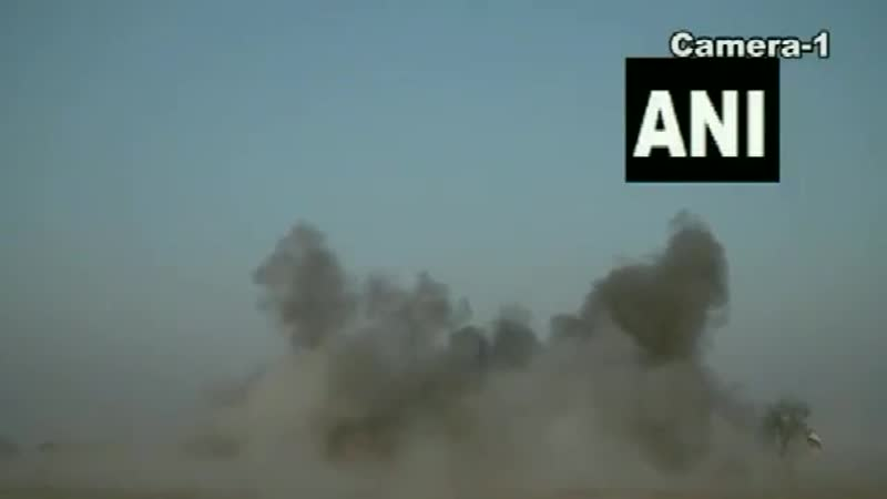 Indian Army's firing of Excalibur precision guided ammunition from M 777 artillery howitze
