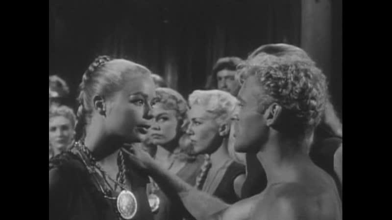 САГА О ЖЕНЩИНАХ ВИКИНГАХ И ИХ ПУТЕШЕСТВИИ ПО ВОДАМ ВЕЛИКОГО ЗМЕИНОГО МОРЯ 1957 боевик приключения Роджер Корман 1080p