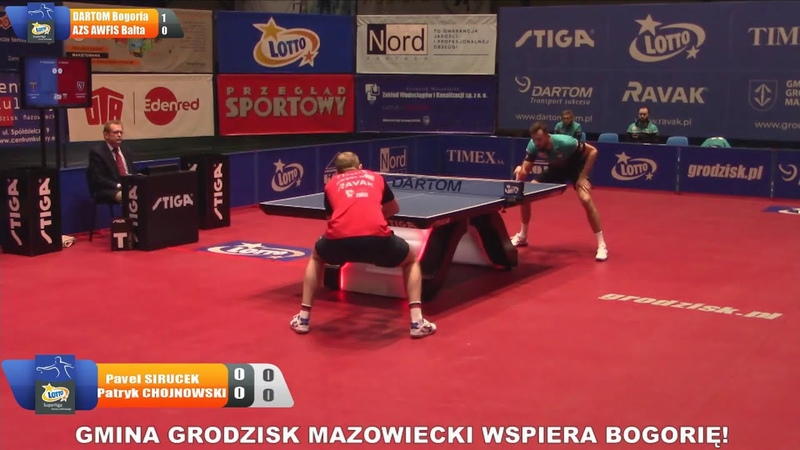 Pavel Sirucek vs Patryk Chojnowski Semifinal Polish Superliga 2020 2021 Leg 2