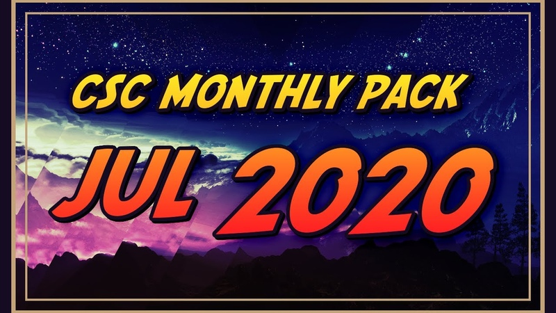CSC Monthly Pack July 2020 Bizarro RELEASE FULL DIFFICULTY