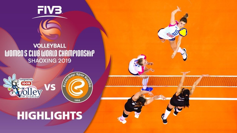 Novara vs Eczacibaşi Highlights Women's Volleyball Club World Champs 2019